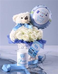 gifts: Baby Boy Fantasy Basket!