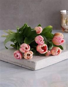 flowers: Pink Tulip Bouquet!