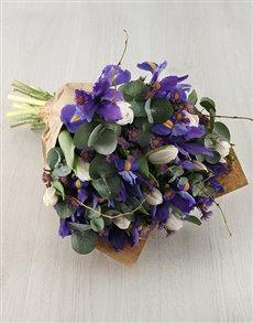 gifts: Blooming Beautiful Iris Bouquet!
