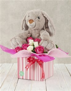 flowers: Roses and Rabbits Box!