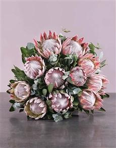 flowers: King Protea Bouquet!