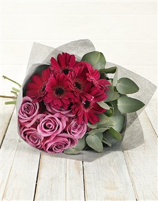 flowers: Perfectly Purple Bouquet!