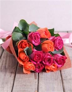 flowers: Twilight Rose Bouquet!