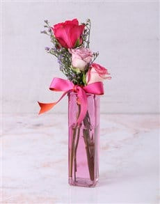 flowers: Coloured With Love Rose Trio!