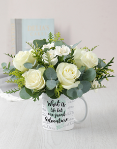 gifts: Grand Adventure Mug Arrangement!