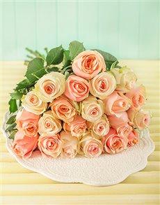 flowers: Pastel Giant Ethiopian Rose Bouquet!