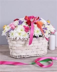 flowers: Mixed Sympathy Basket!