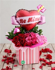 flowers: Be Mine Rose Box!