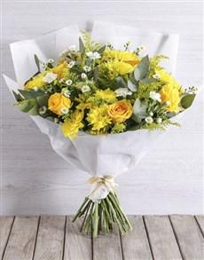 flowers: Burst of Yellow !