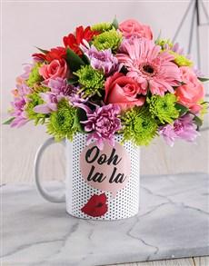 gifts: Ooh La La Mug Arrangement!