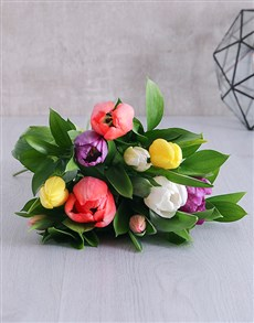 flowers: Happiness Tulip Bouquet!