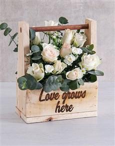 flowers: Love Grows Mixed Flower Arrangement!