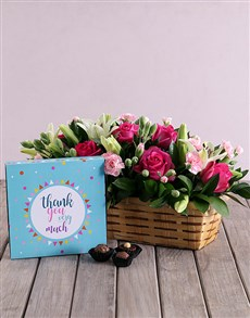 flowers: Appreciate Flower and Chocs Combo!