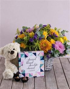 flowers: Blessed Flower Hamper!