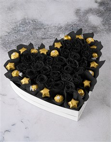 flowers: I Heart You Preserved Roses!