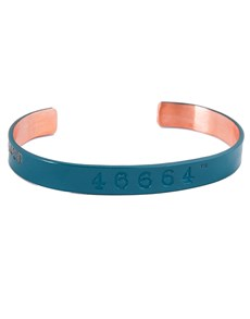 gifts: Proudly South African 46664 Copper Bangle!