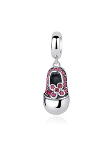 gifts: Red Baby Shoe Dangle Charm!