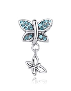 gifts: Blue Butterfly Dangle Charm!