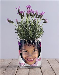gifts: Lavender Butterfly Photo Vase!