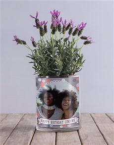 flowers: Personalised Birthday Lavender Vase!