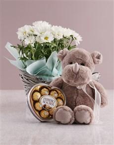 flowers: Wondrous Chrysanthemum Basket!