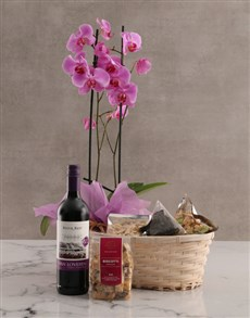 gifts: Wine Not Orchid Hamper!