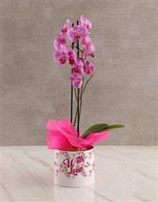 gifts: With Love Pink Orchid!