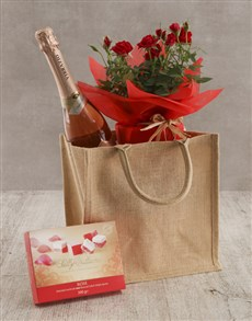 plants: Red Rose Bush And Sweet Treats!