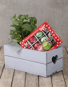 flowers: Herb and Sweetie Pies Crate!