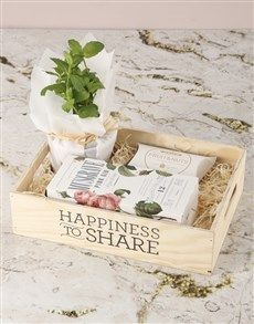 flowers: Share Happiness Herb Hamper!