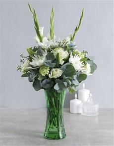 gifts: Serenity Flowers in Vase!