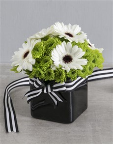 flowers: Snow White Arrangement!