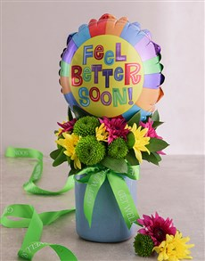 gifts: Mixed Sprays and Feel Better Balloon!