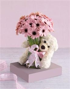 gifts: Pink Gerbera Array!