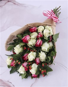 gifts: Thank You Rose Bouquet!