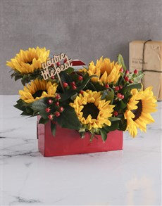 flowers: The Best Sunflower Box!