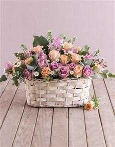 flowers: Basket Of Blooms!
