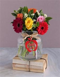 flowers: Best Teacher Flower Vase!