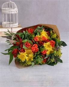 flowers: Harvest Festival Bouquet!