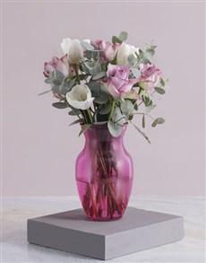 flowers: Pink Delight Tulip Arrangements!