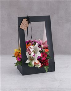flowers: Mixed Flowers In A Black Box!