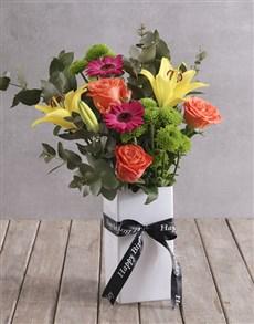 flowers: Colour Burst Variety!