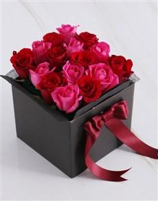flowers: Cerise Rose Blossoms!