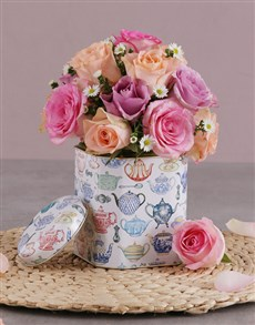 flowers: Stunning Mixed Rose Delights!