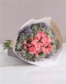 flowers: Enchanted Sapphire Pink Roses!