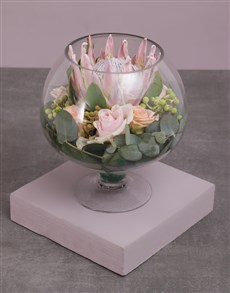 flowers: Radiant Glass Blossoms!