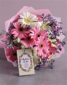flowers: Thinking of You Gerbera Bouquet!