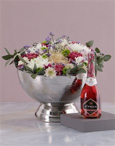 flowers: A Bottle and Bunch!