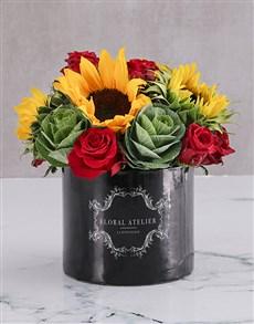 flowers: Le Petit Fleur Sunflower Arrangement!