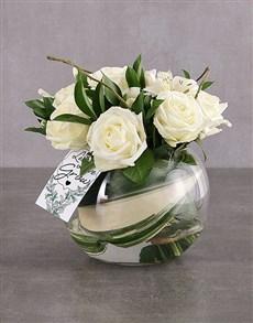 flowers: White Elegant Sensations!